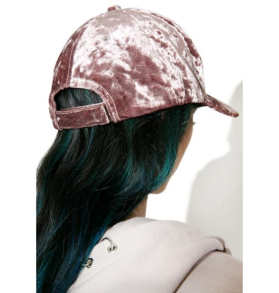 Step Up Crushed Velvet Hat