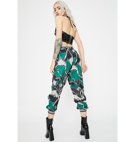 Kiki Riki Regal Rebel Printed Joggers