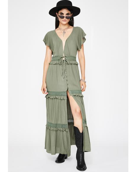 Lush Cutie Country Maxi Dress