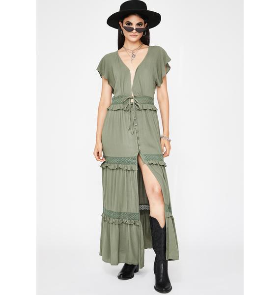 Lush Cutie Country Maxi Dress