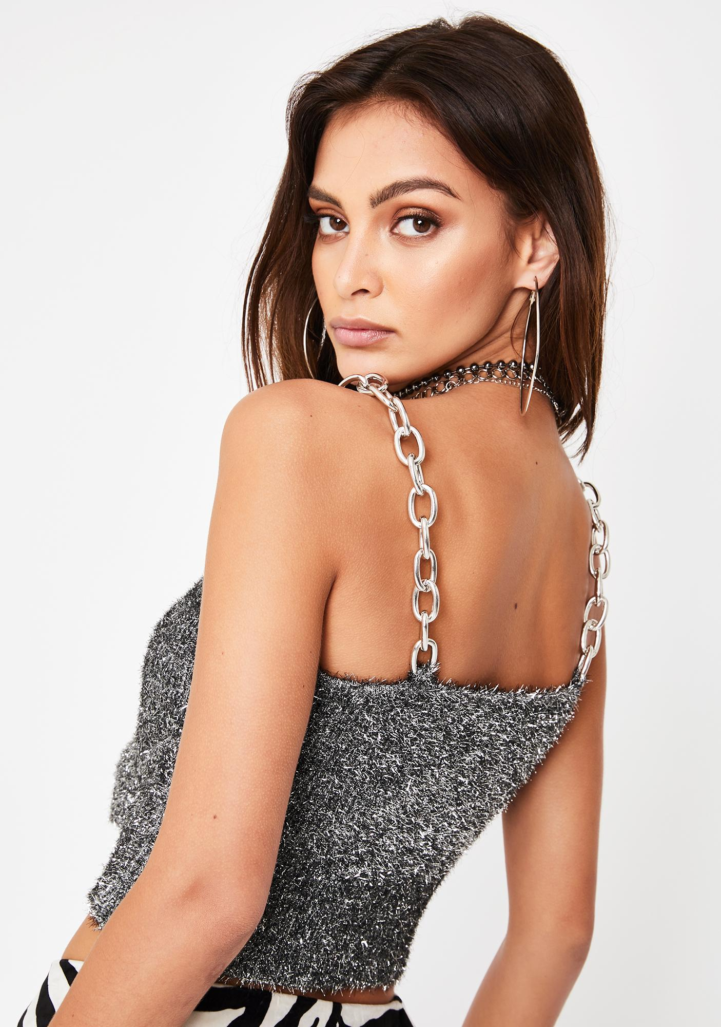 The Ragged Priest Charm Chain Cami Top