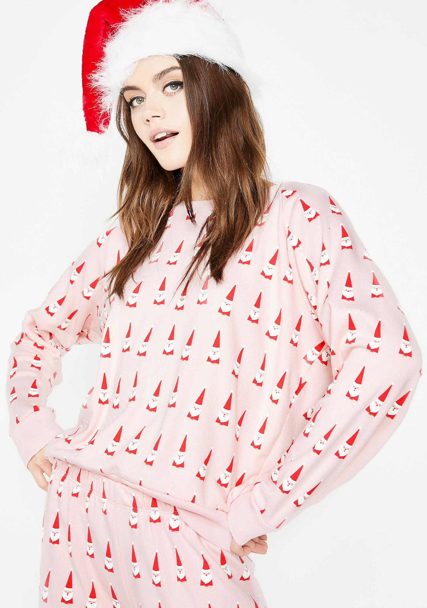 Wildfox Couture Lil Claus Fiona Crew