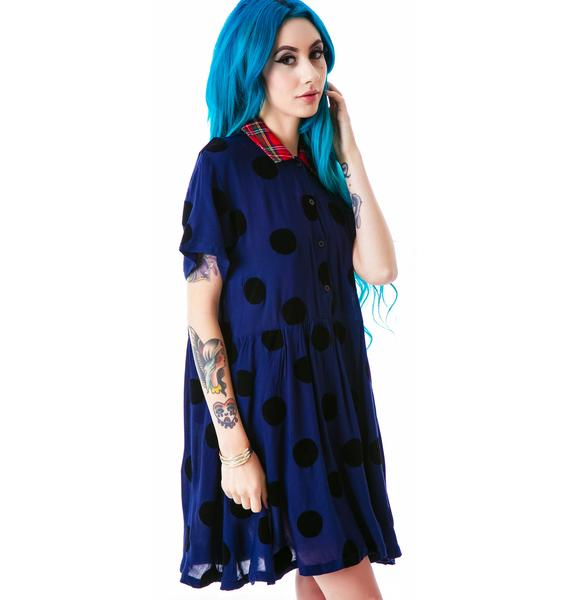 Lazy Oaf Floka Dot Dress