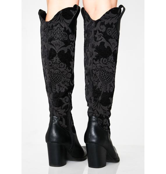 Widow Supreme Ascension Brocade Boots