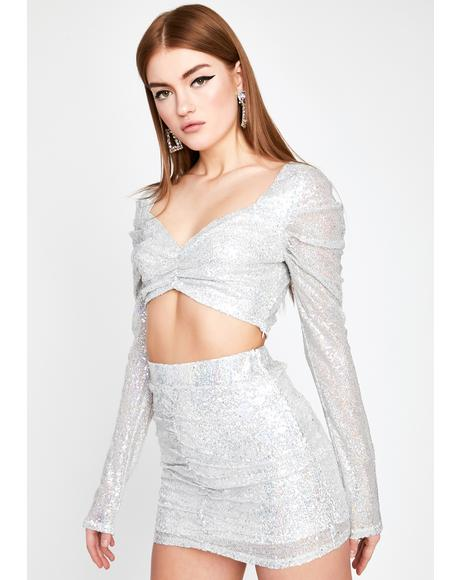 Unlimited Champagne Sequin Set