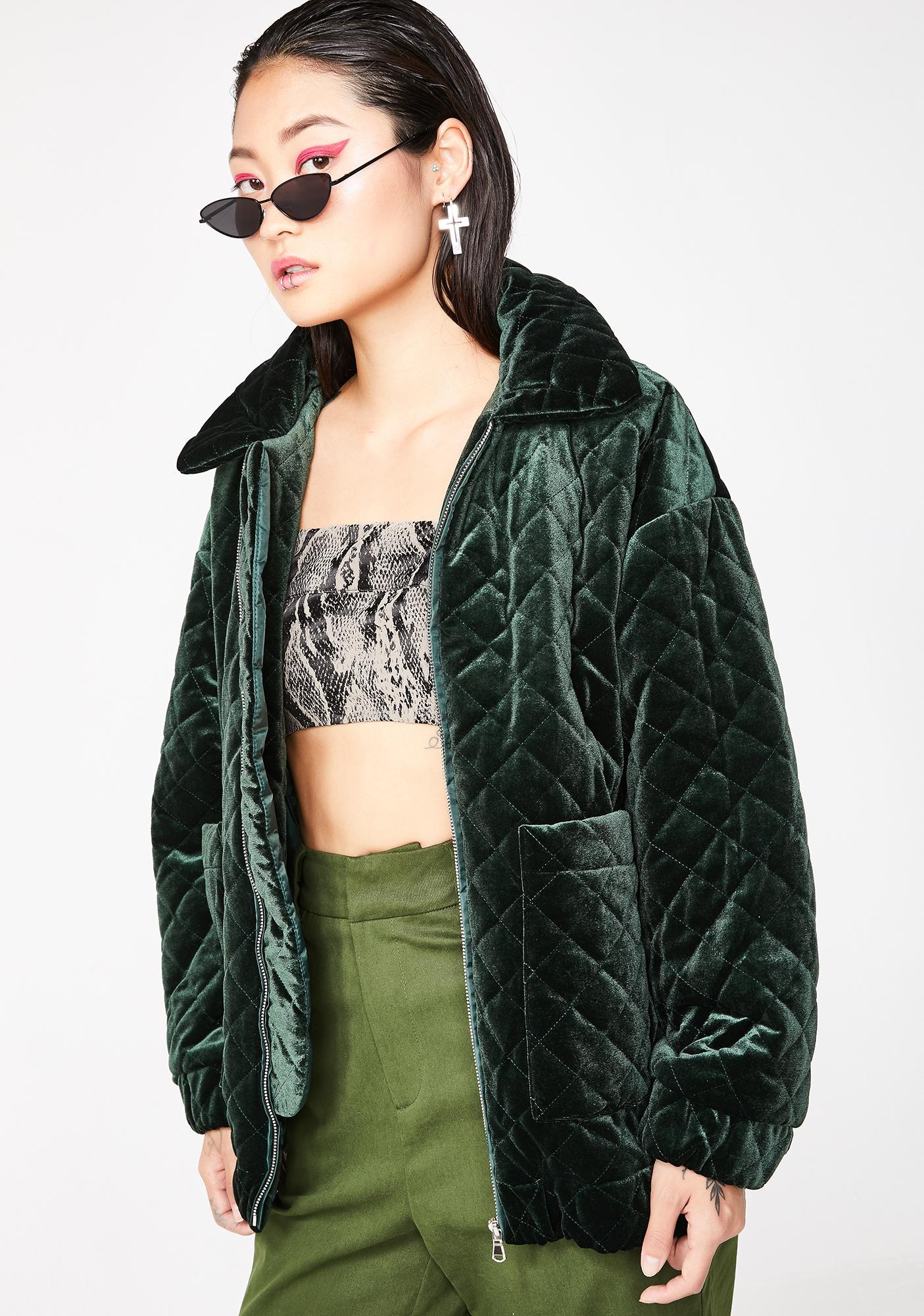I AM GIA Forest Contraband Jacket