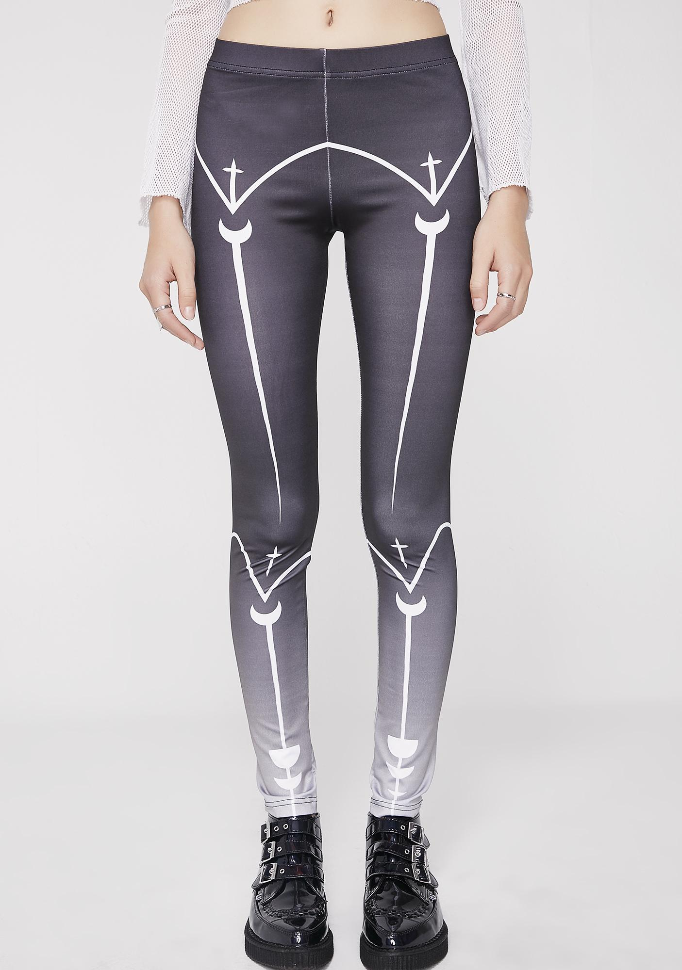 3c4b896567970 Rogue + Wolf Lunar Alignment Leggings | Dolls Kill