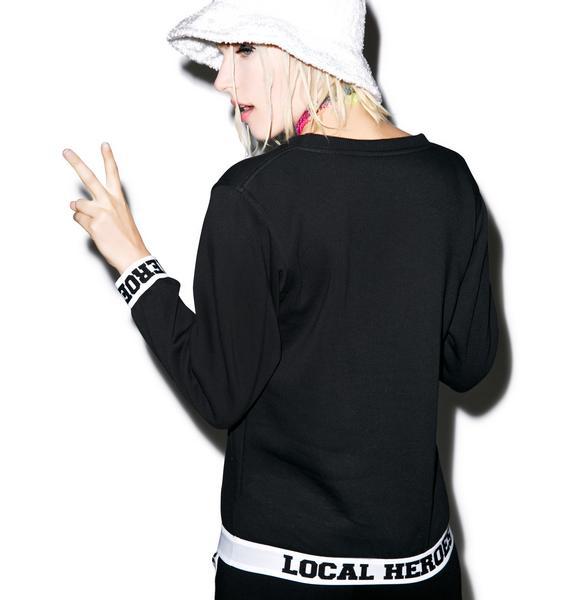 Local Heroes LH Black Sweatshirt