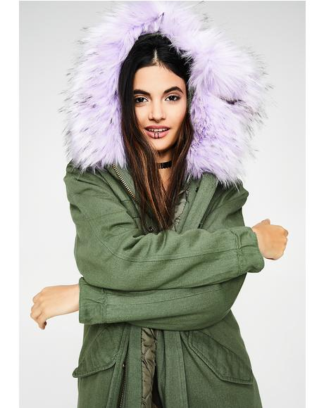 Ruffled Feathers Parka