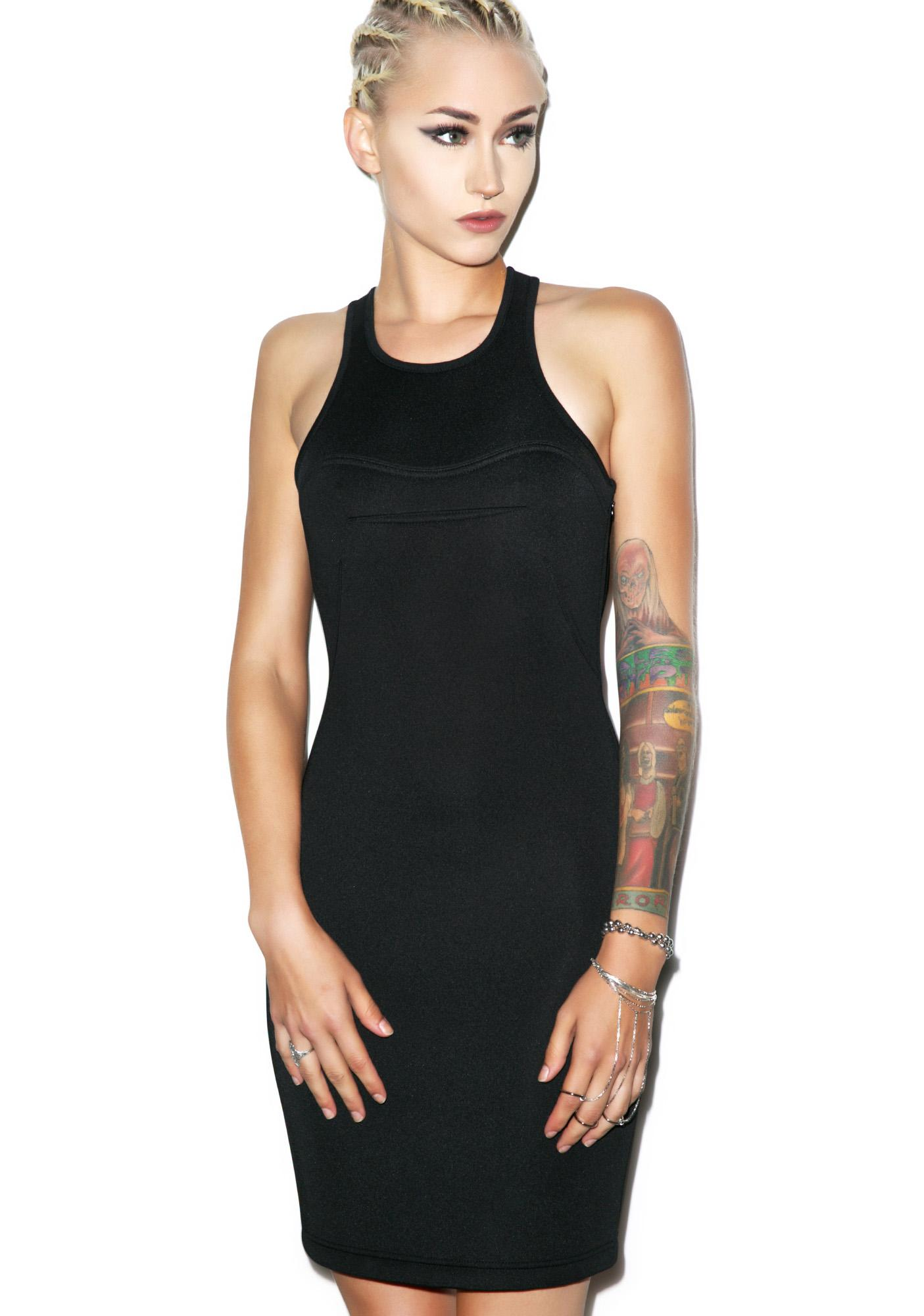 BLQ BASIQ Scuba Dress
