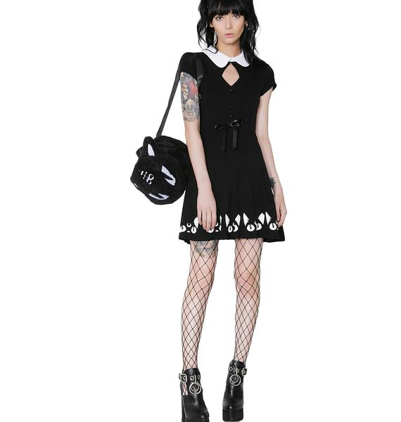 Killstar Keiko Kitty Skater Dress
