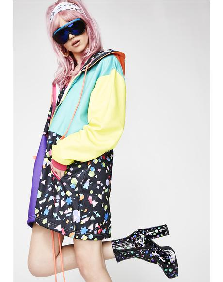 Party Favorz Colorblock Hoodie
