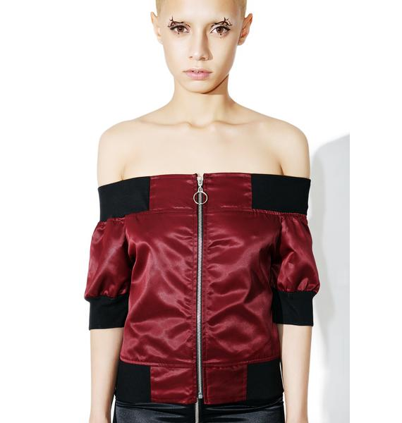 Hold Me Tight Zip Top