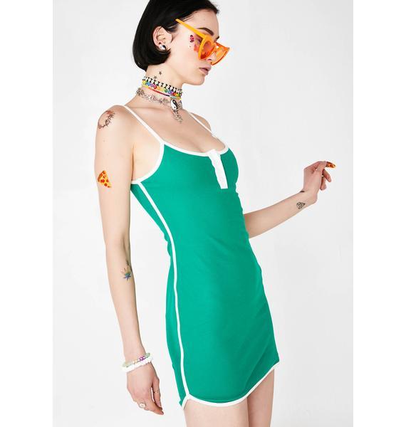 Slay Mode Henley Dress