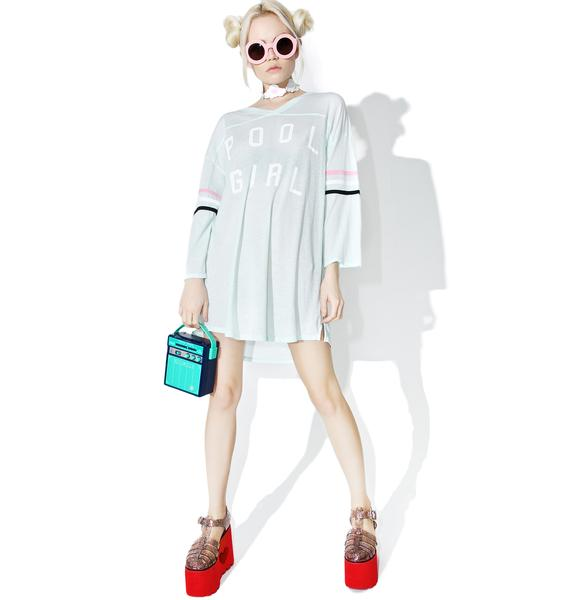 Wildfox Couture Pool Girl Jersey Tunic