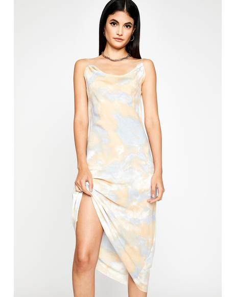Right As Rain Tie Dye Midi Dress