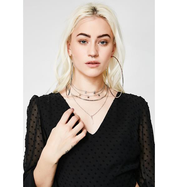 Love Starship Layered Necklace