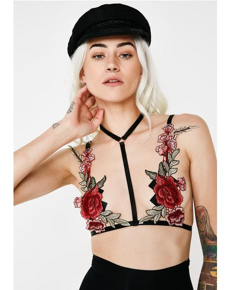 Flower Fetish Bralette