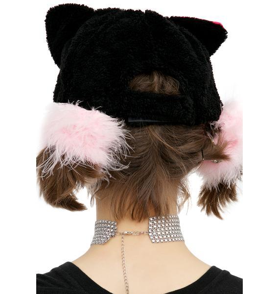 Fuzzy Kitty Hat