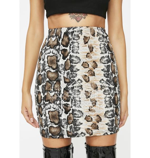 Rattle N' Roll Mini Skirt
