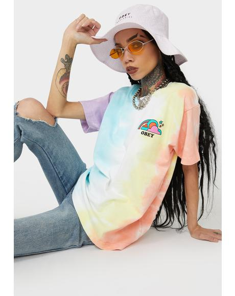 Happy Land Tie Dye Tee