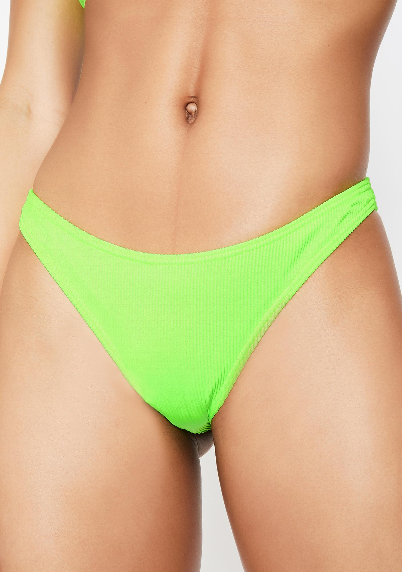Current Mood Atomic Splash Low Rise Bikini Bottoms
