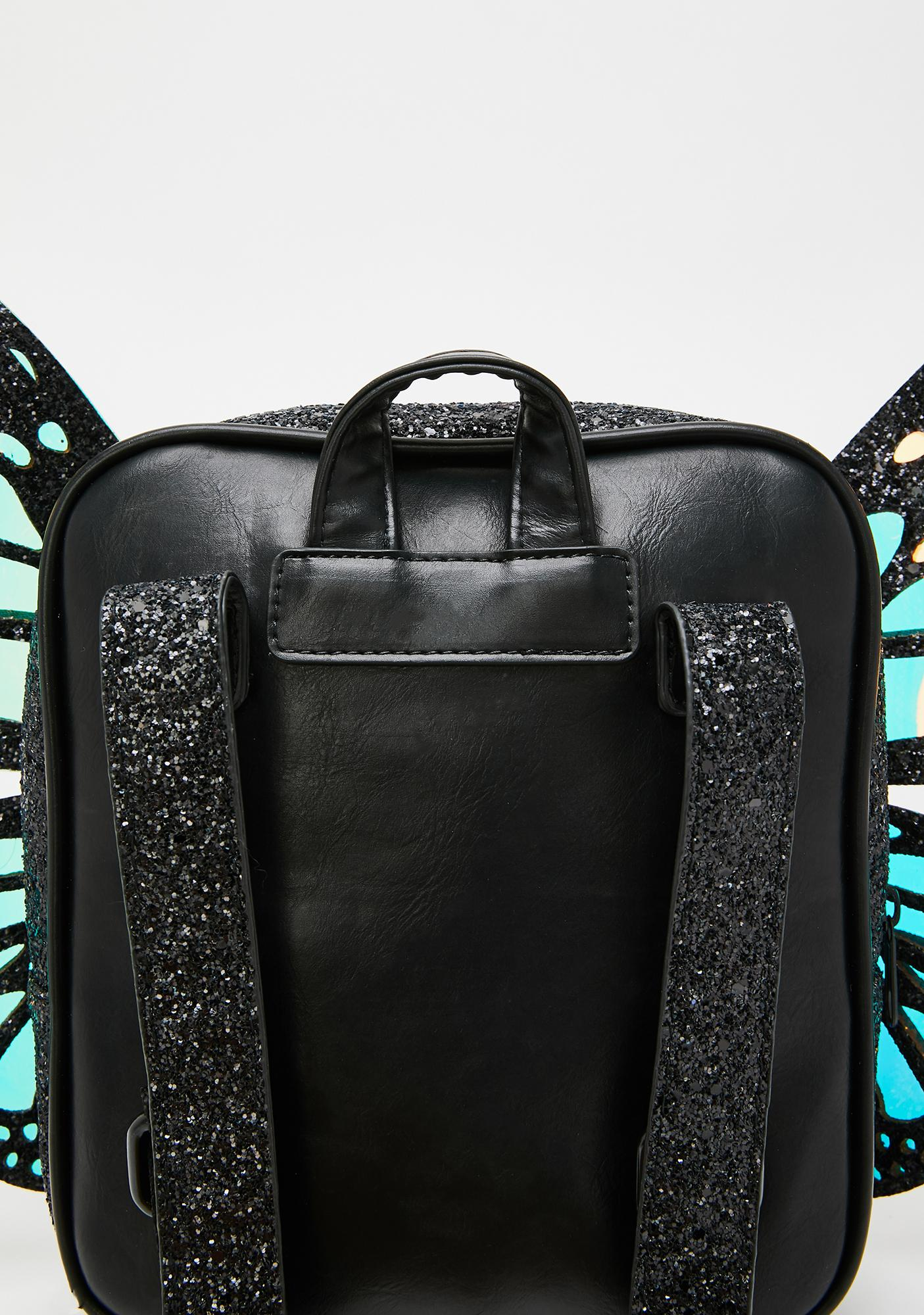 Club Exx Metamorphic Glitter Backpack