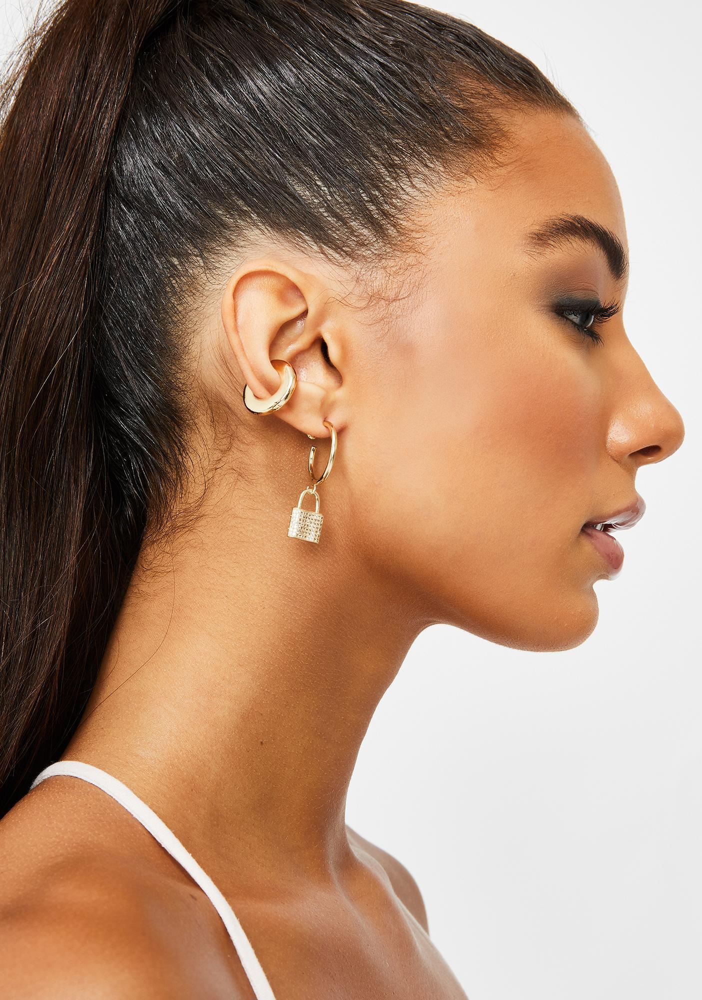 Major Momentz Lock N' Key Earrings