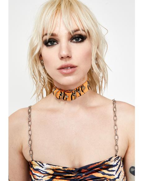 Lethal Weapon Tiger Choker