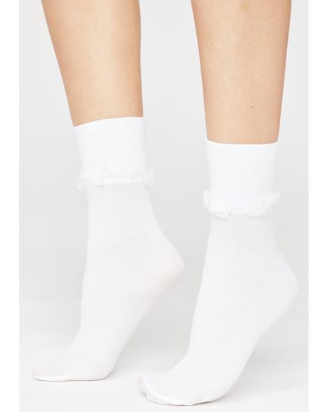 Grade Grubber Ruffle Socks