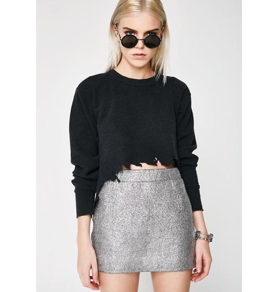 Always Shinin' Mini Skirt