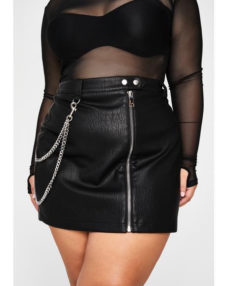 Total Manic Mindset Mini Skirt
