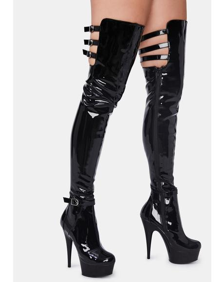 Vixen Mission Thigh High Boots