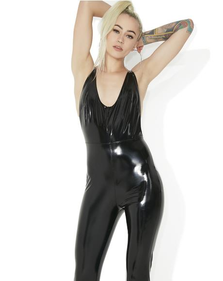 Spectacle Vinyl Jumpsuit