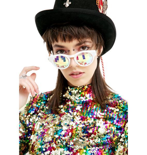GloFx Kaleidoscope Cat-Eye Glasses