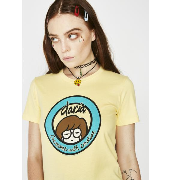 Overcome With Emotion Graphic Tee