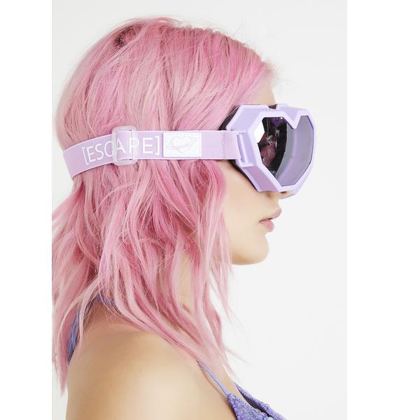 ESQAPE Purple Heart Goggles