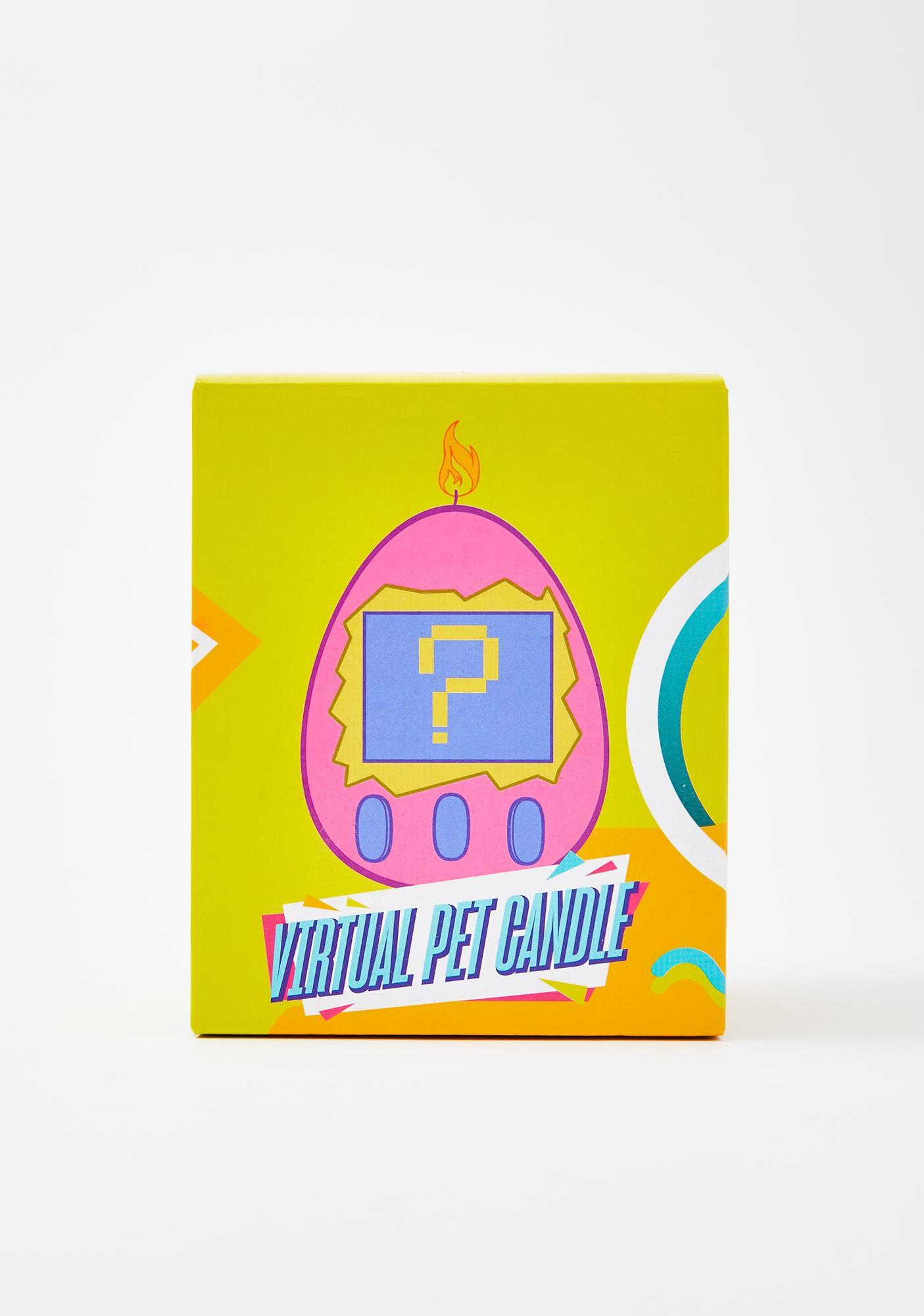 Pixel Pal Egg Candle