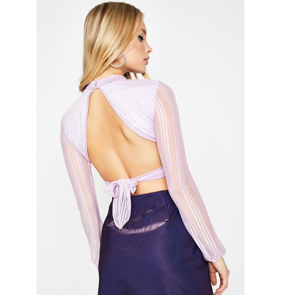 Pixie Think Of Me Keyhole Top
