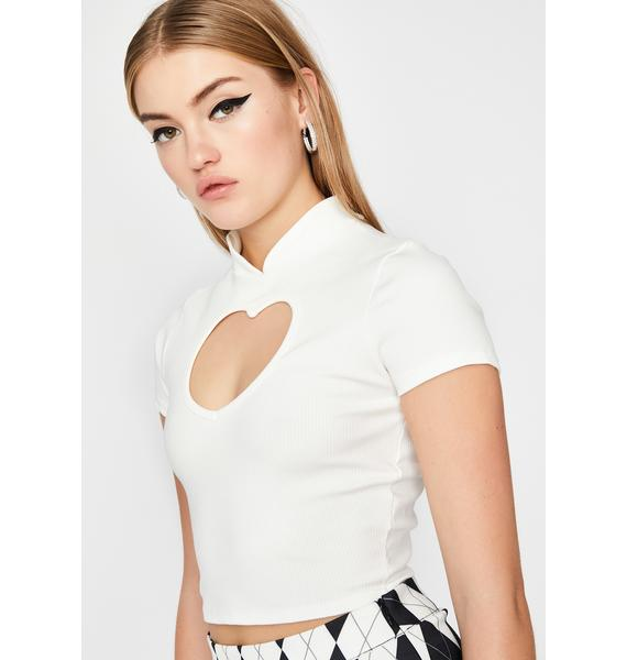 Angel Love More Cut-Out Top