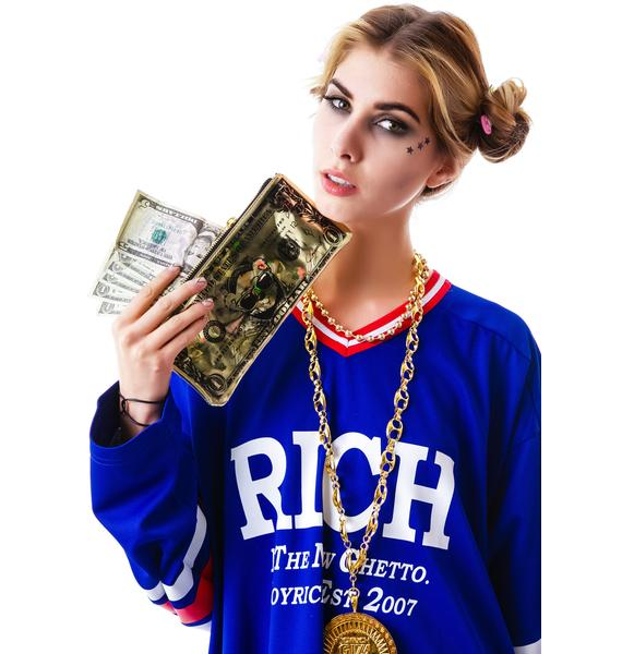 Joyrich Cuddle Currency Clutch Bag