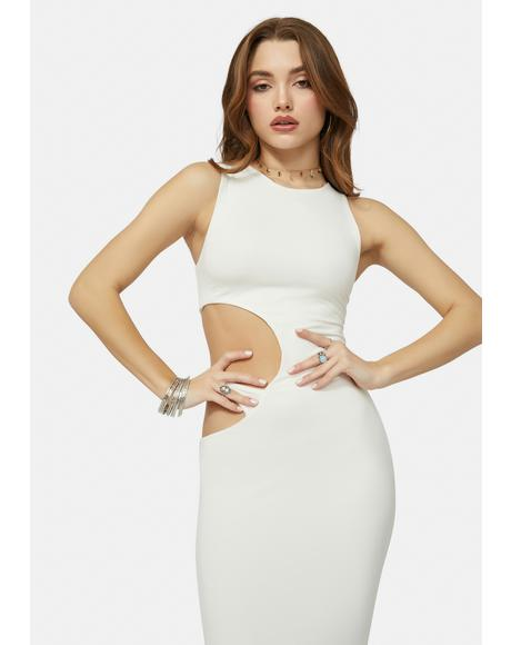 Pretty Hurts Cut Out Maxi Dress