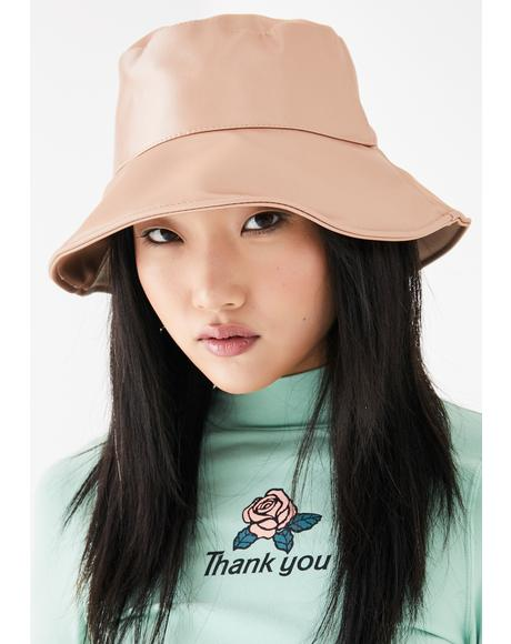 Champagne Even The Score Bucket Hat