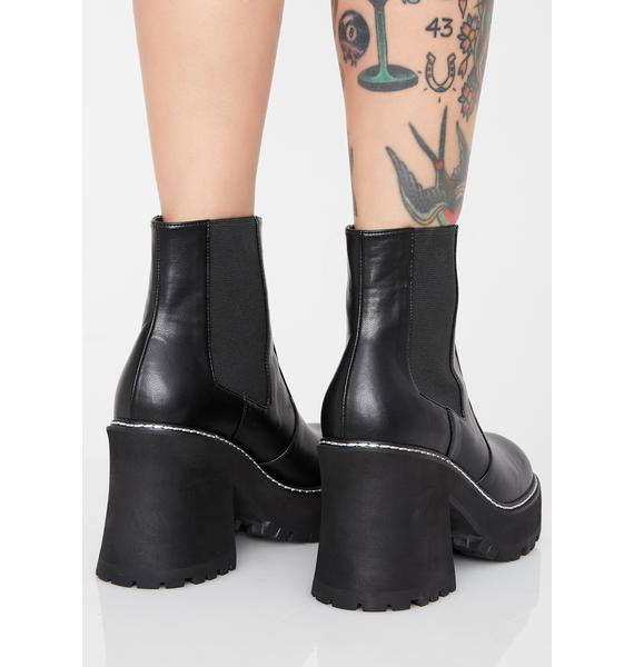 Current Mood Injustice Platform Boots