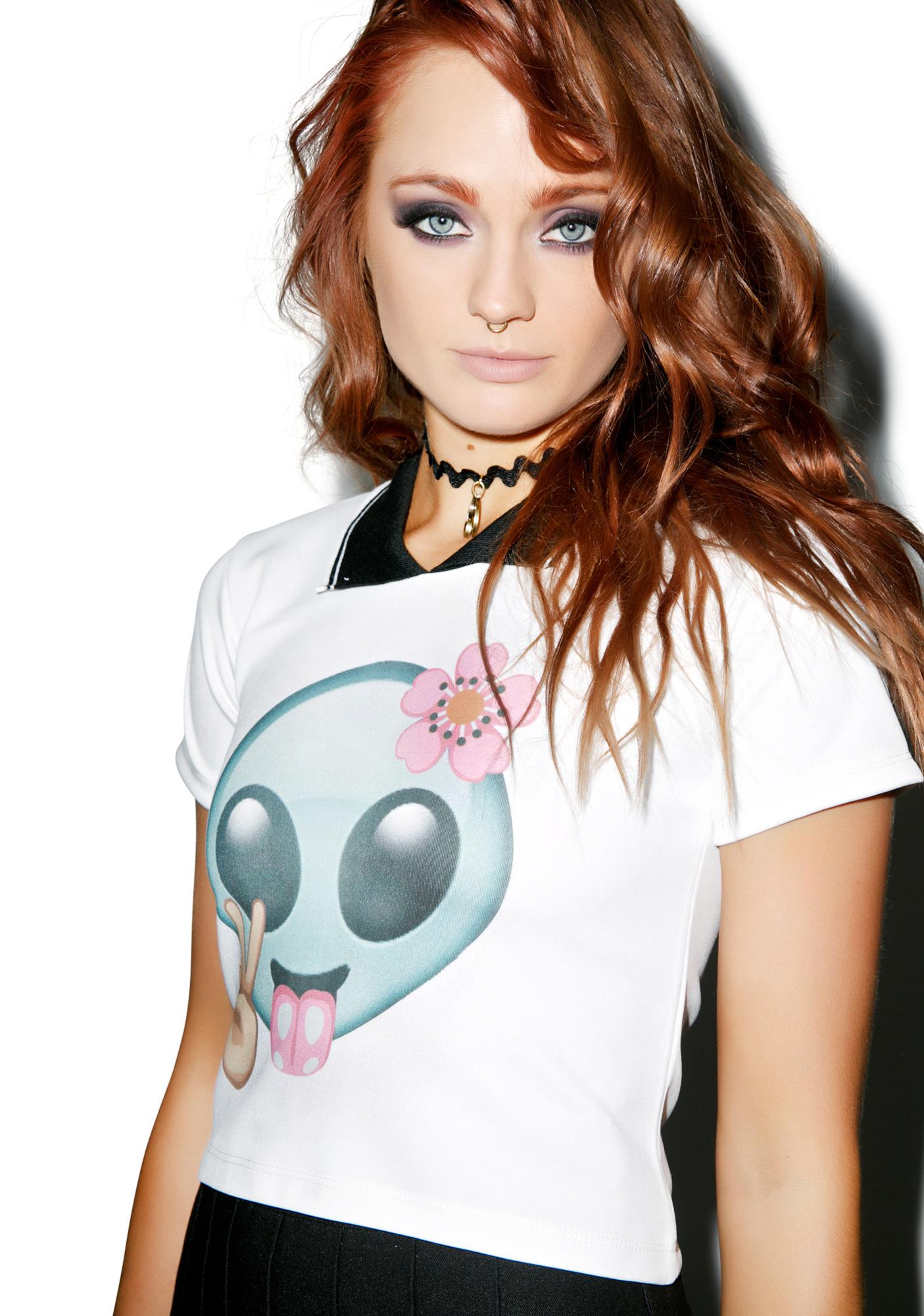 Alien Polo Tee