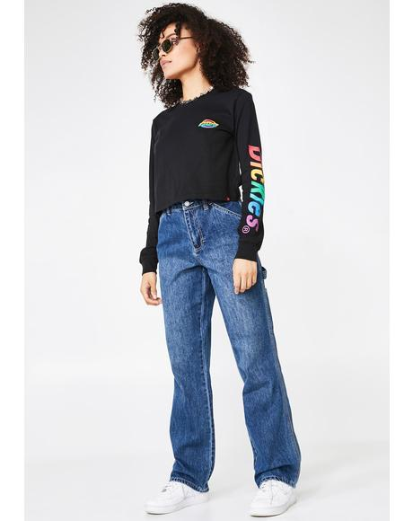 Carpenter High Relaxed Fit Jeans