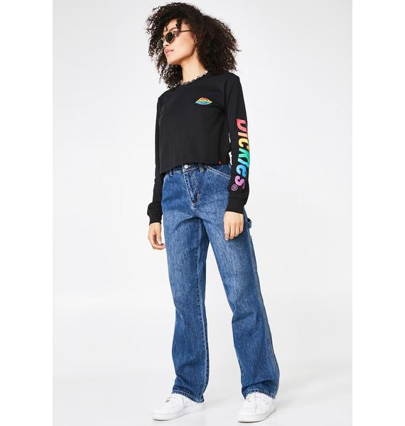 Dickies Girl Carpenter High Relaxed Fit Jeans