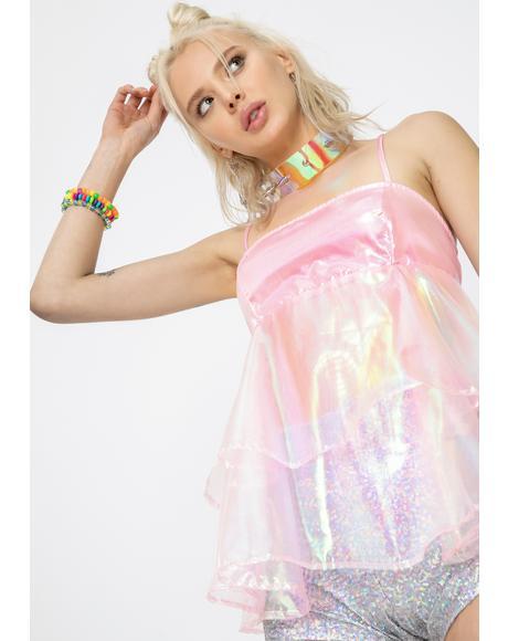 Pink Cupcake Organza Dress