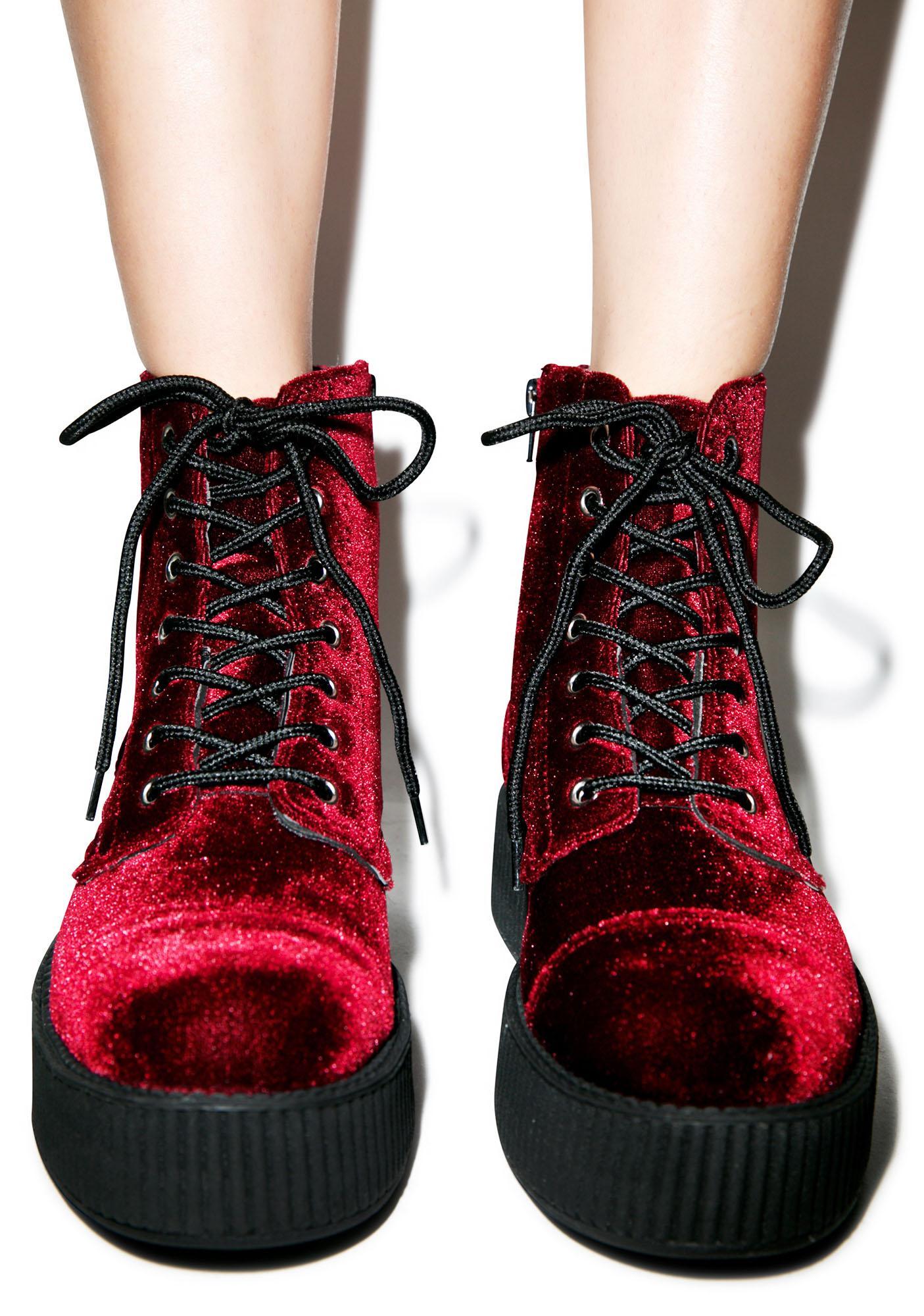 T.U.K. Velvet Creeper Boots