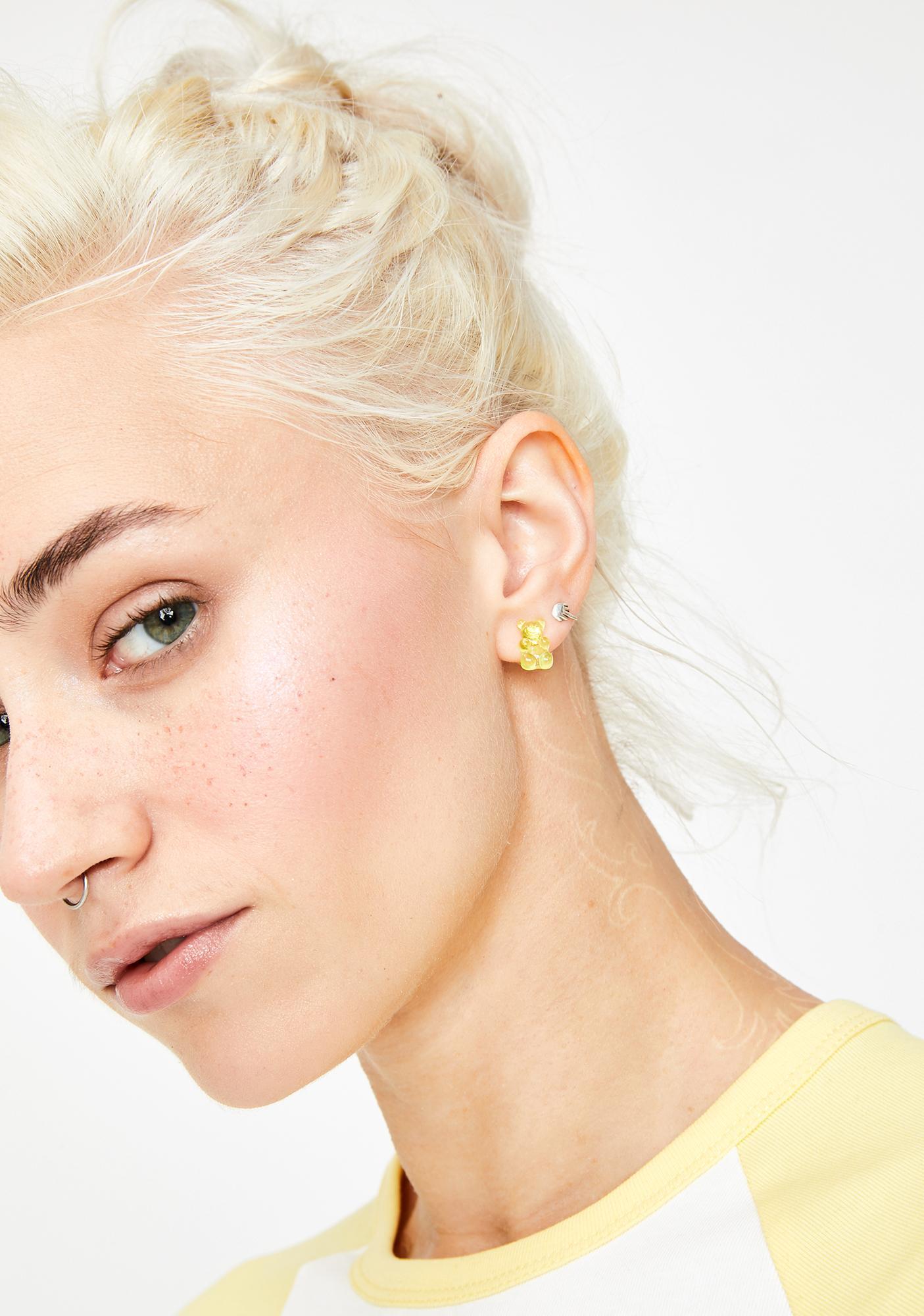 Beary Sweet Earring Set